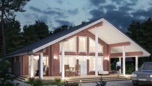 Проекты домов площадью 180 кв. м: разнообразие планировок