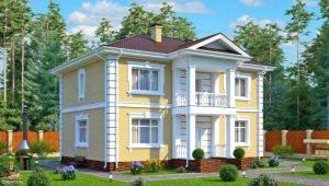 Проекты двухэтажных домов размером 7 на 9 метров