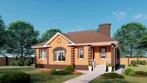 Проекты одноэтажных домов площадью 150 кв. м