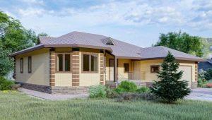 Выбираем проект домов площадью 100-120 кв. м