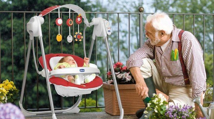 Качели для новорожденных: рейтинг лучших производителей