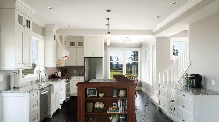 Кафель на пол для кухни