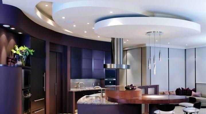 Навесной потолок для кухни