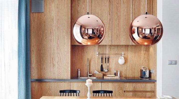 Потолочные светильники для кухни