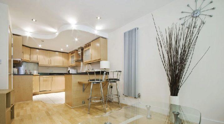Потолок из гипсокартона с подсветкой для кухни своими руками
