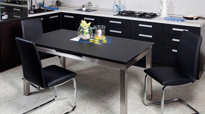 Размеры столов для кухни