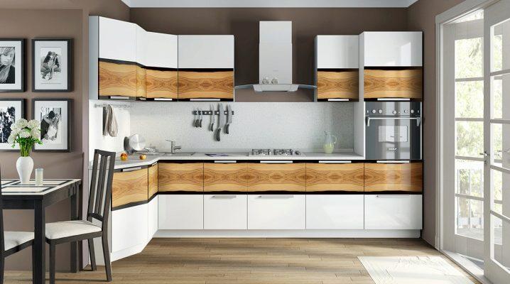 Размеры углового кухонного шкафа