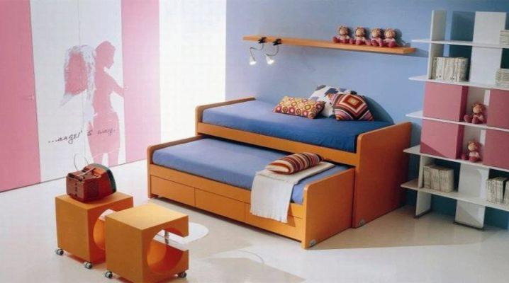 Двойная детская кровать