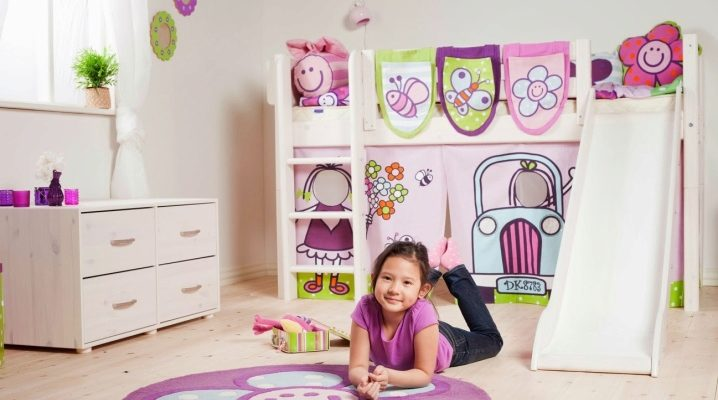 Двухъярусные кровати для малышей и подростков