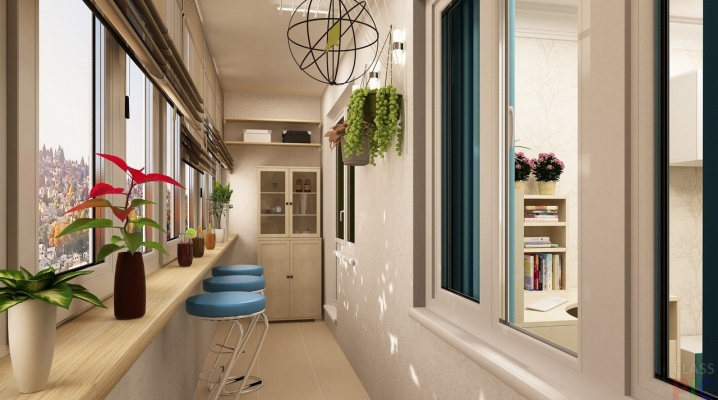 Идеи дизайна отделки балкона