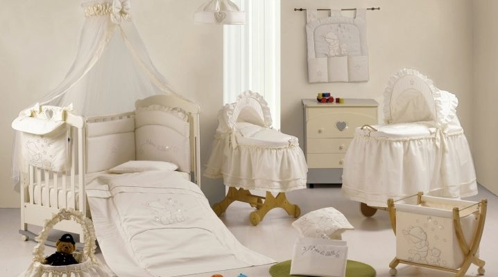 Итальянские кроватки для новорожденных
