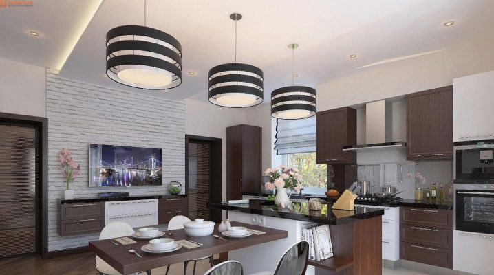 кухни студии в частном доме 35 фото дизайн проекта гостиной в