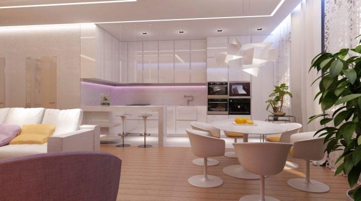 Кухня, совмещенная с комнатой или прихожей