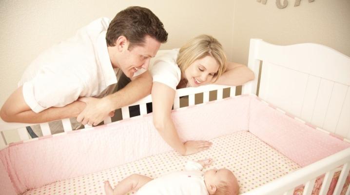Матрас в кроватку для новорожденных