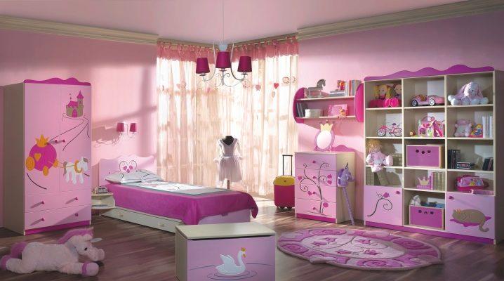 shtory-dlya-detskoj-komnaty-devochek-68 Шторы для детской комнаты девочек (77 фото): идеи готовых занавесок и тюли в спальню до подоконника