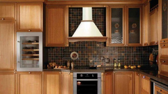 Вытяжки в интерьере кухни