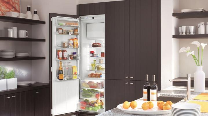 Однокамерный холодильник с морозильной камерой