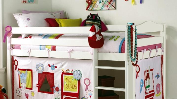 Кровать-чердак с игровой зоной