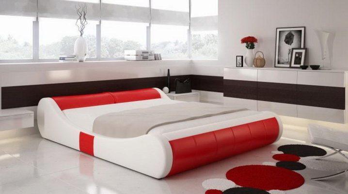 Красивые двуспальные кровати 309