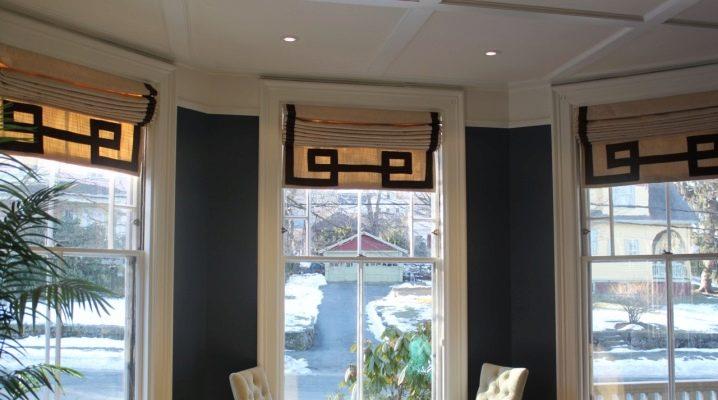 шторы в греческом стиле