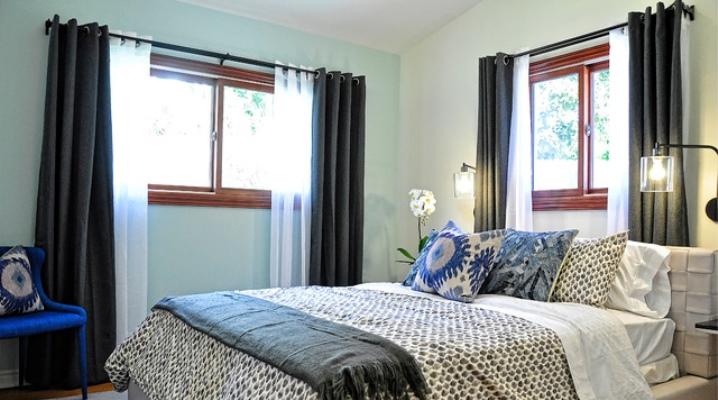 шторы ночные в спальню