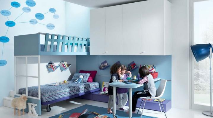 Спальня для двух девочек