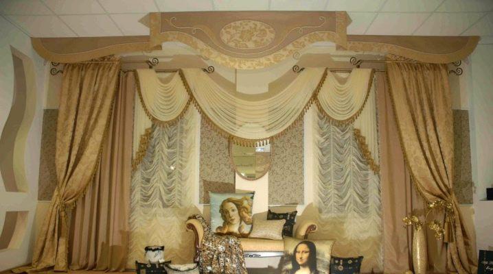 фото штор со свагами