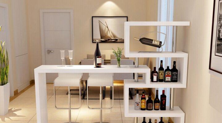 Барные столики - функциональность и стиль в интерьере квартиры