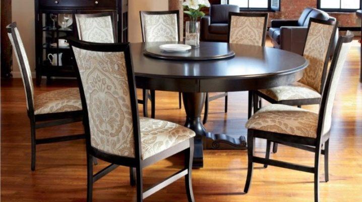 Круглые раздвижные столы