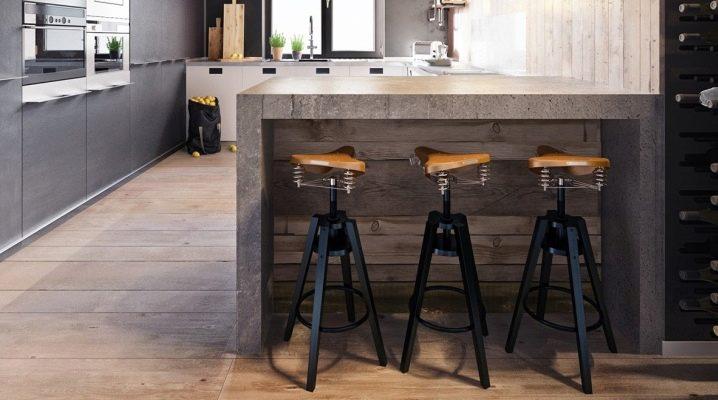 Барные стулья в стиле лофт: современный подход к дизайну интерьера