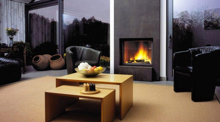 Дизайн гостиной с камином в доме: красивые примеры интерьера