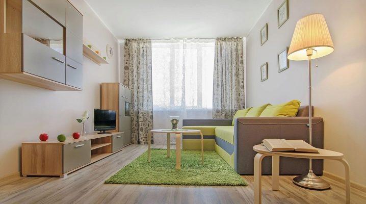 Дизайн однокомнатной квартиры: выбираем стиль оформления интерьера