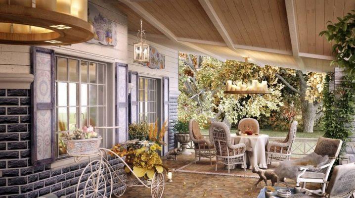 Французский Прованс в интерьере загородного дома
