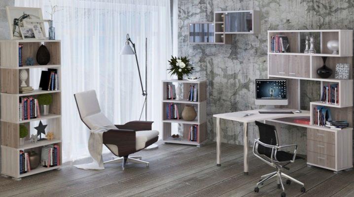 Компьютерный стол со стеллажом