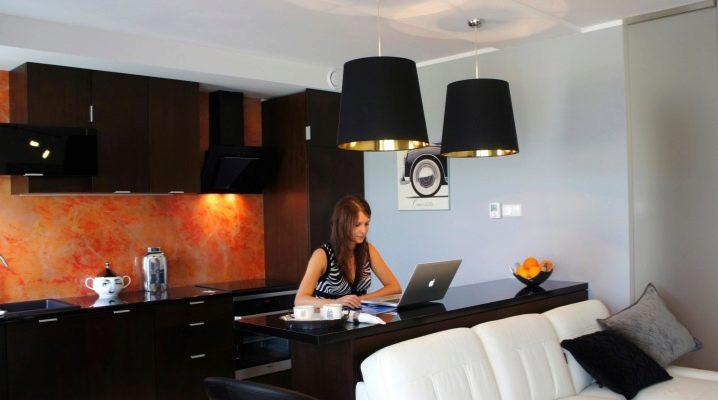 Примеры дизайна интерьера квартиры-студии