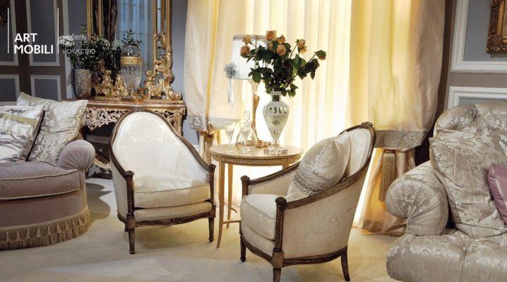 Выбираем стул-кресло в гостиную