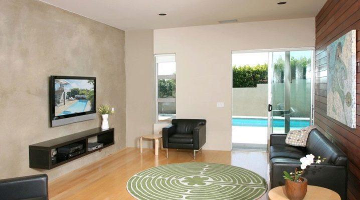 Дизайн интерьера гостиной: оформляем стену с телевизором