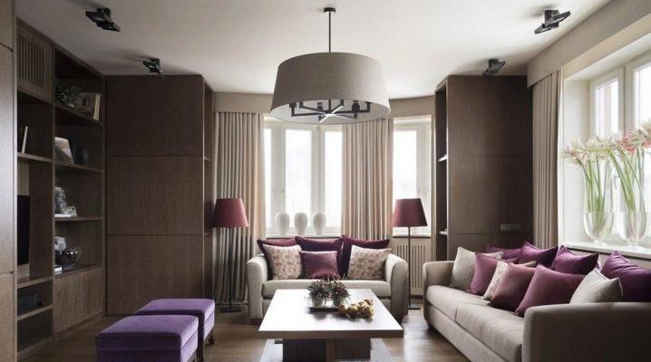 Дизайн комнаты площадью 20 кв. м: примеры оформления