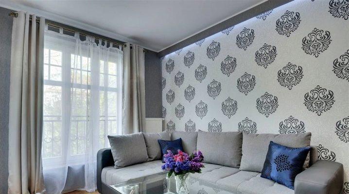 7a142bcf4 Дизайн обоев (131 фото): ремонт квартиры, варианты поклейки обоев в ...