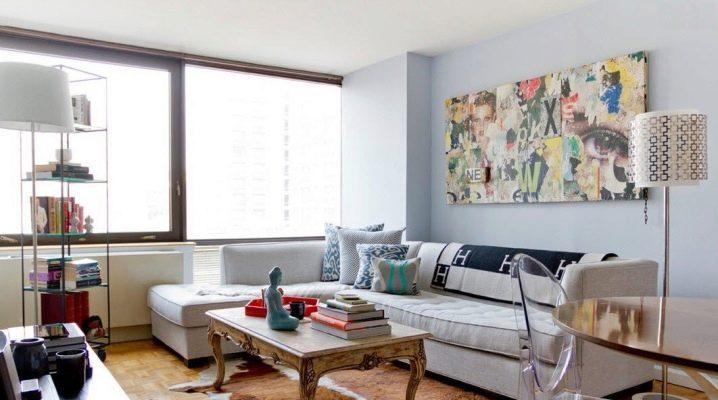 Особенности оформления интерьера маленькой гостиной в современном стиле