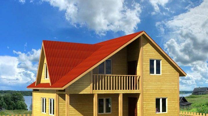 Проект дома 8х6 м или площадью 48 кв. м с отличной планировкой