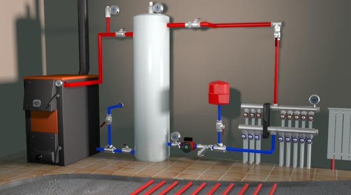 Тёплый пол от газового котла своими руками 907