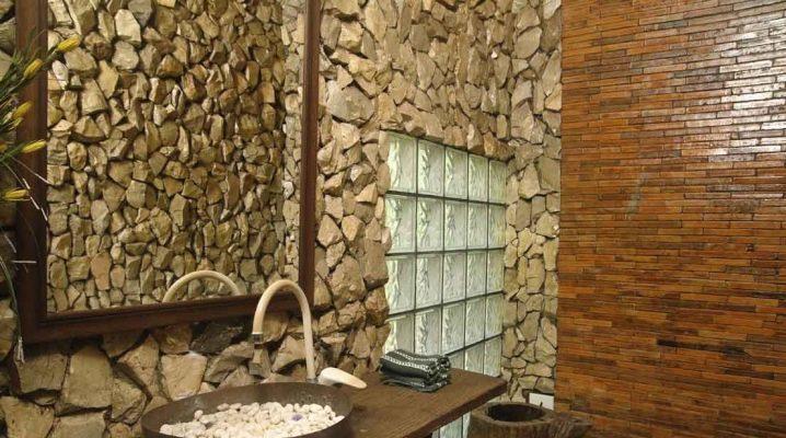 Плитка из натурального камня в дизайне интерьера