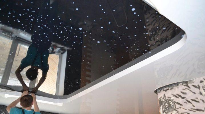 Как установить натяжные потолки без нагрева своими руками?