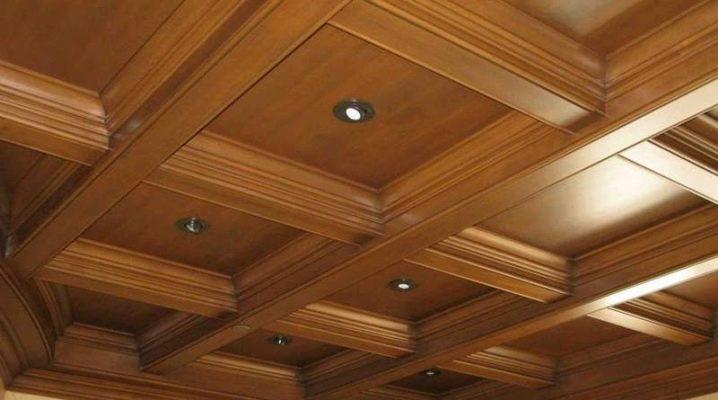 Кессонный потолок: плюсы и минусы