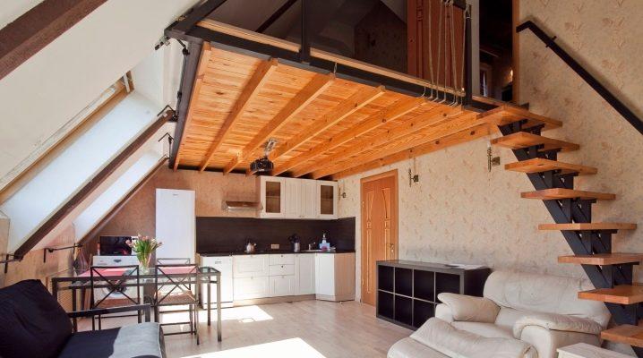 Квартира с мансардой: преимущества и варианты дизайна