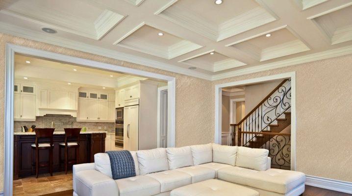 Многоуровневые потолки в современном дизайне интерьера