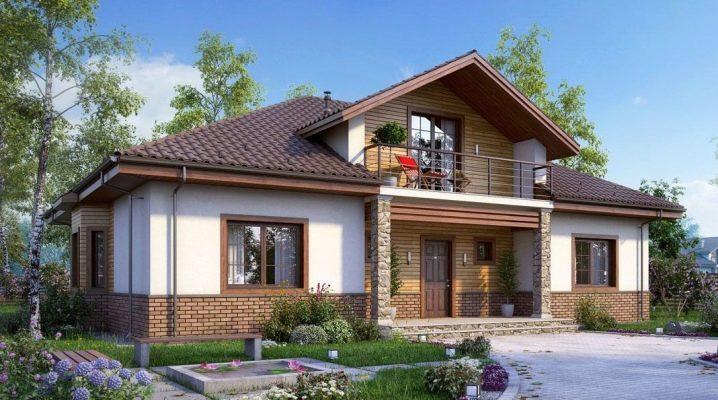 Проекты одноэтажных домов с мансардой: красивые варианты для строительства