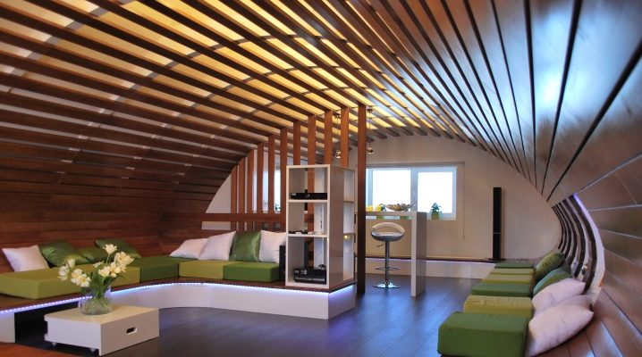 Реечный потолок: виды и особенности конструкции