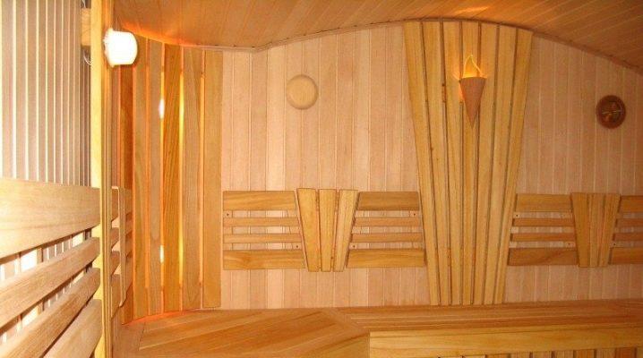 Вагонка для обшивки бани внутри